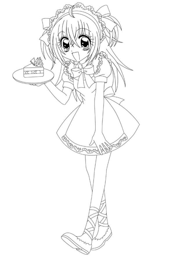 Kleurplaat Freya 84 Dibujos De Manga Para Colorear Oh Kids Page 4