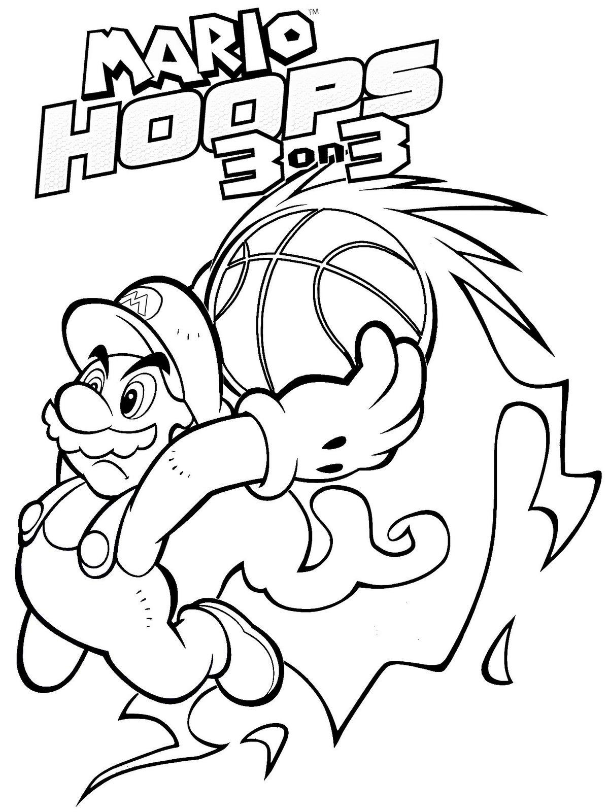138 dibujos de Mario bros para colorear | Oh Kids | Page 1