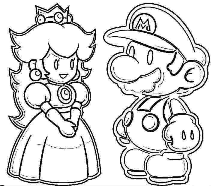 138 dibujos de Mario bros para colorear | Oh Kids | Page 3