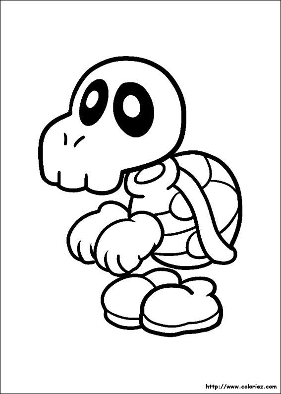 138 Dibujos De Mario Bros Para Colorear Oh Kids Page 3