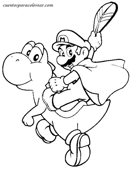 138 dibujos de Mario bros para colorear | Oh Kids | Page 9