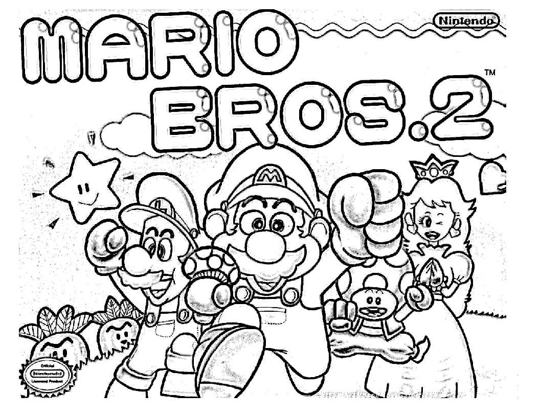 138 Dibujos De Mario Bros Para Colorear Oh Kids Page 10