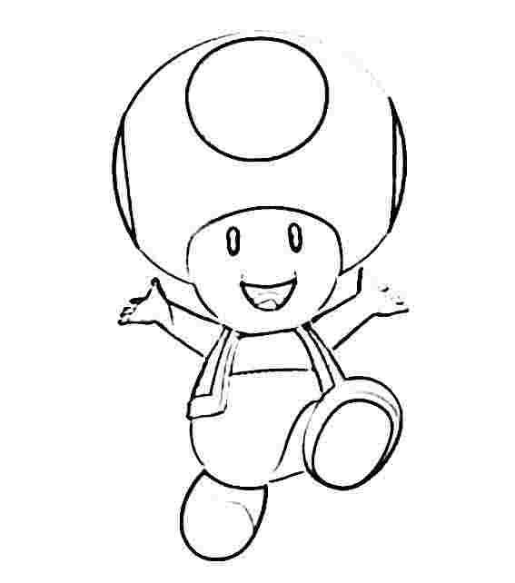Dibujo Para Colorear Mario Frog En Juegos De Mario Gratis Beñat ...