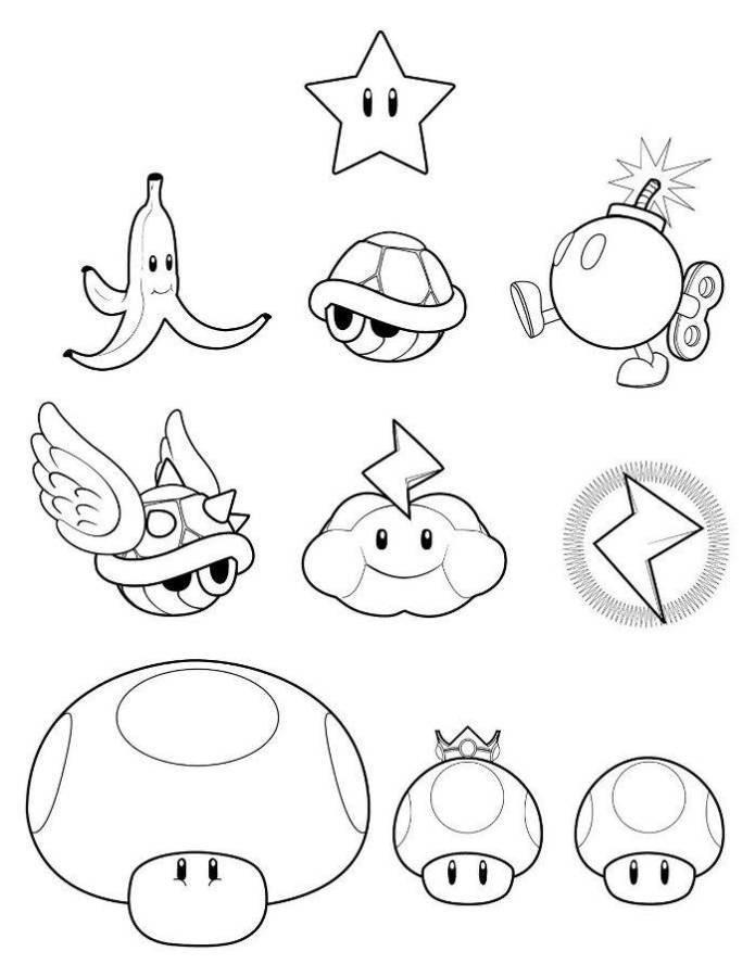 138 dibujos de mario bros para colorear oh kids page 15 - Coloriage imprimer mario ...