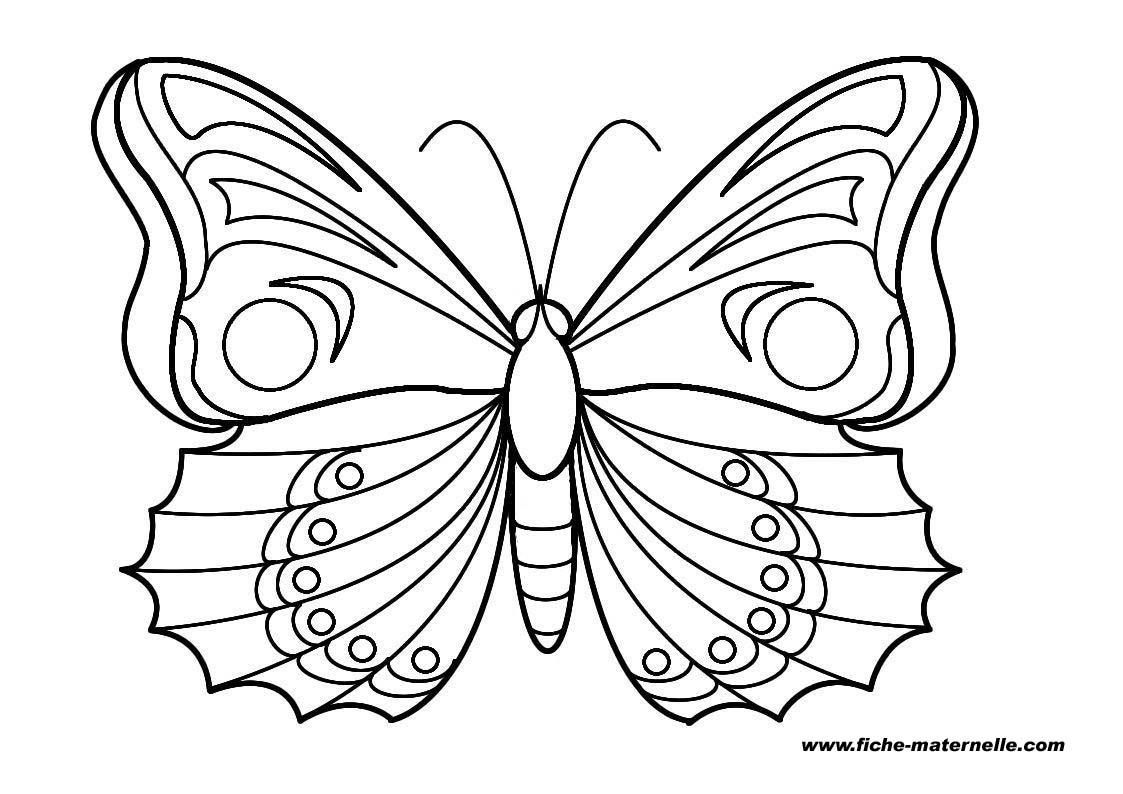110 dibujos de mariposas para colorear oh kids page 3 - Dessin dessin ...
