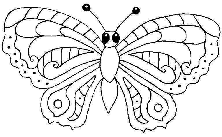 110 dibujos de Mariposas para colorear | Oh Kids | Page 3