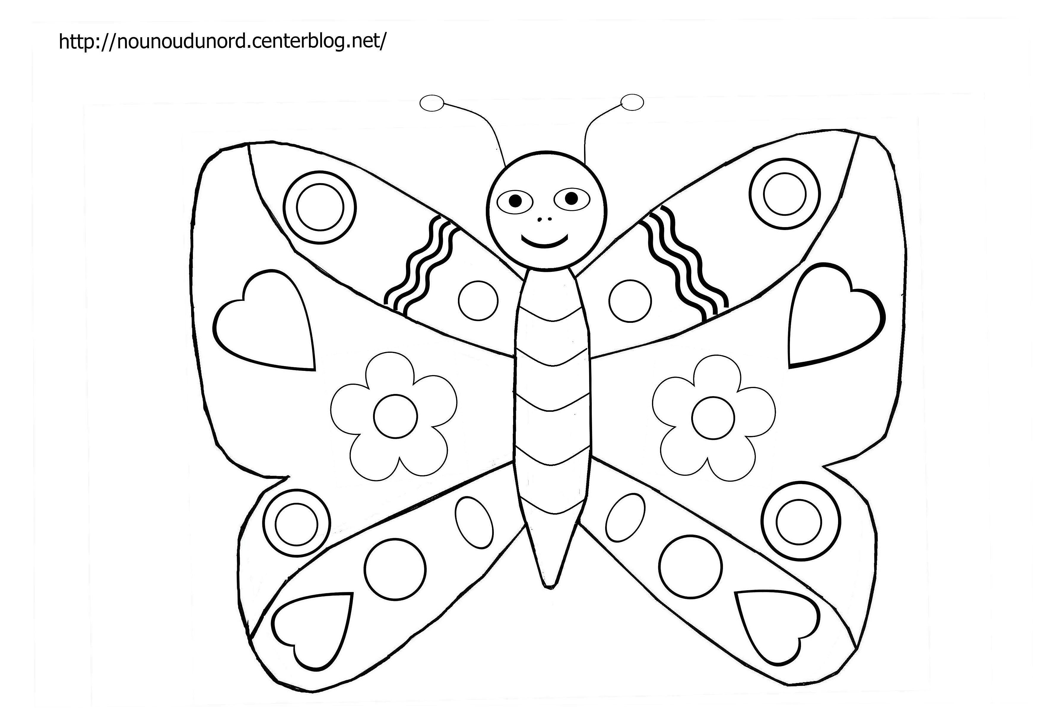 110 dibujos de Mariposas para colorear | Oh Kids | Page 8