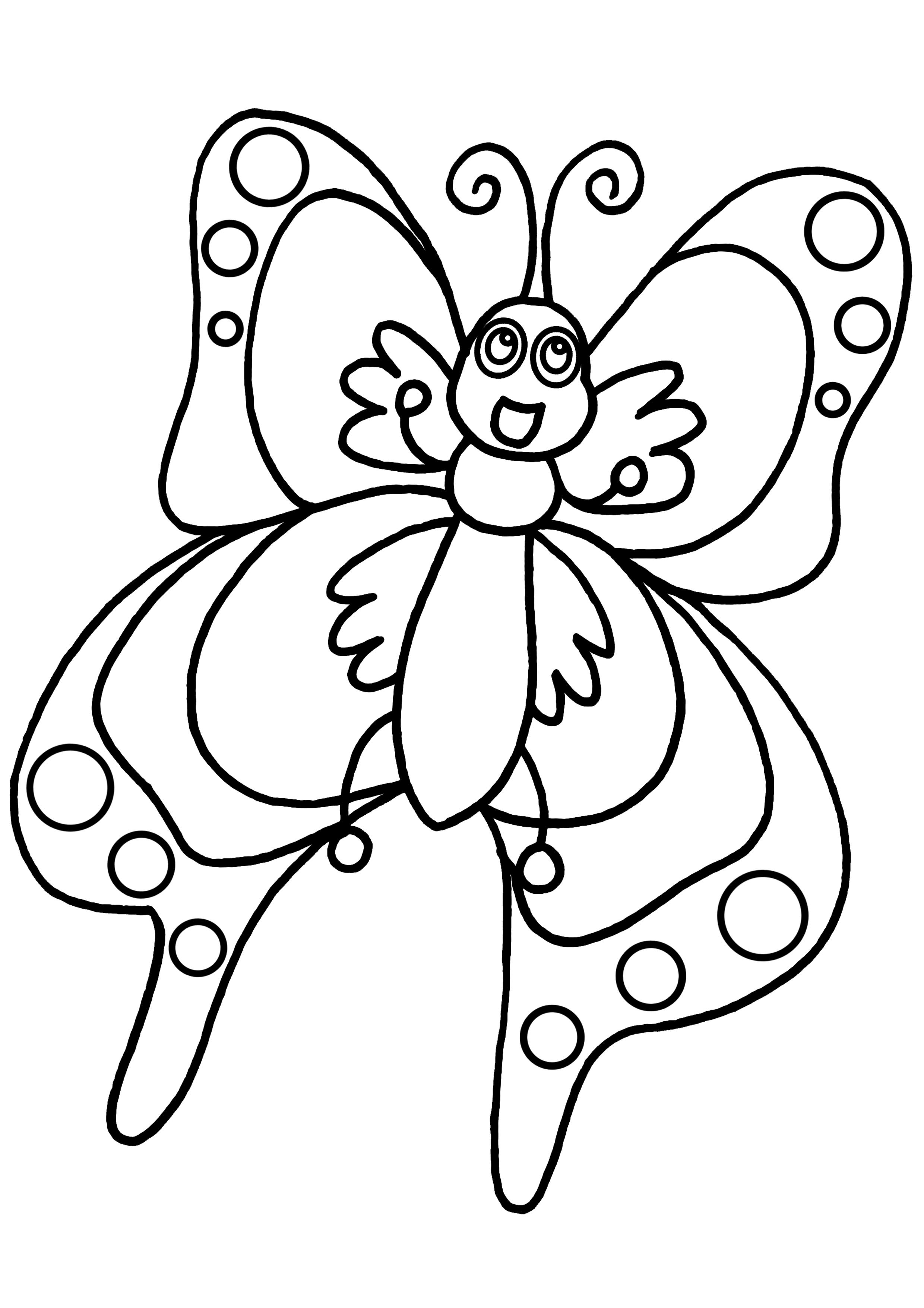 110 dibujos de Mariposas para colorear | Oh Kids | Page 11