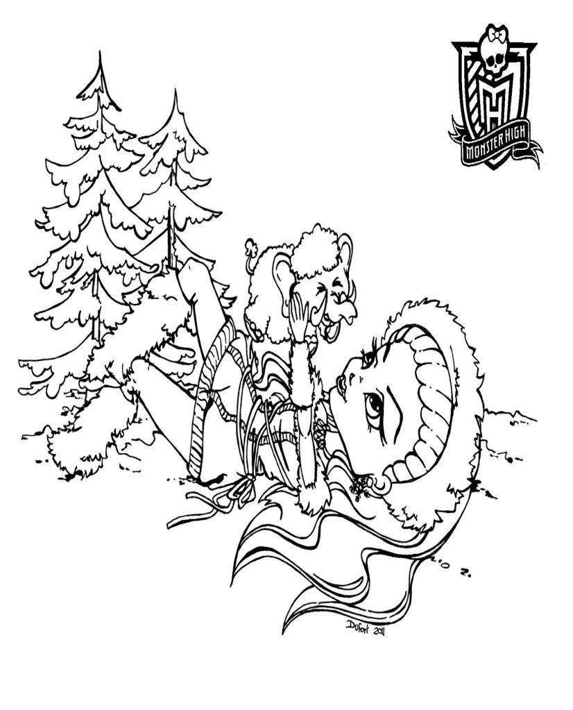 154 dibujos de Monster high para colorear | Oh Kids | Page 9