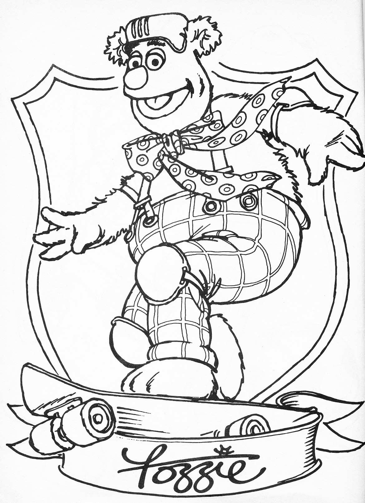 132 dibujos de Muppets para colorear | Oh Kids | Page 2