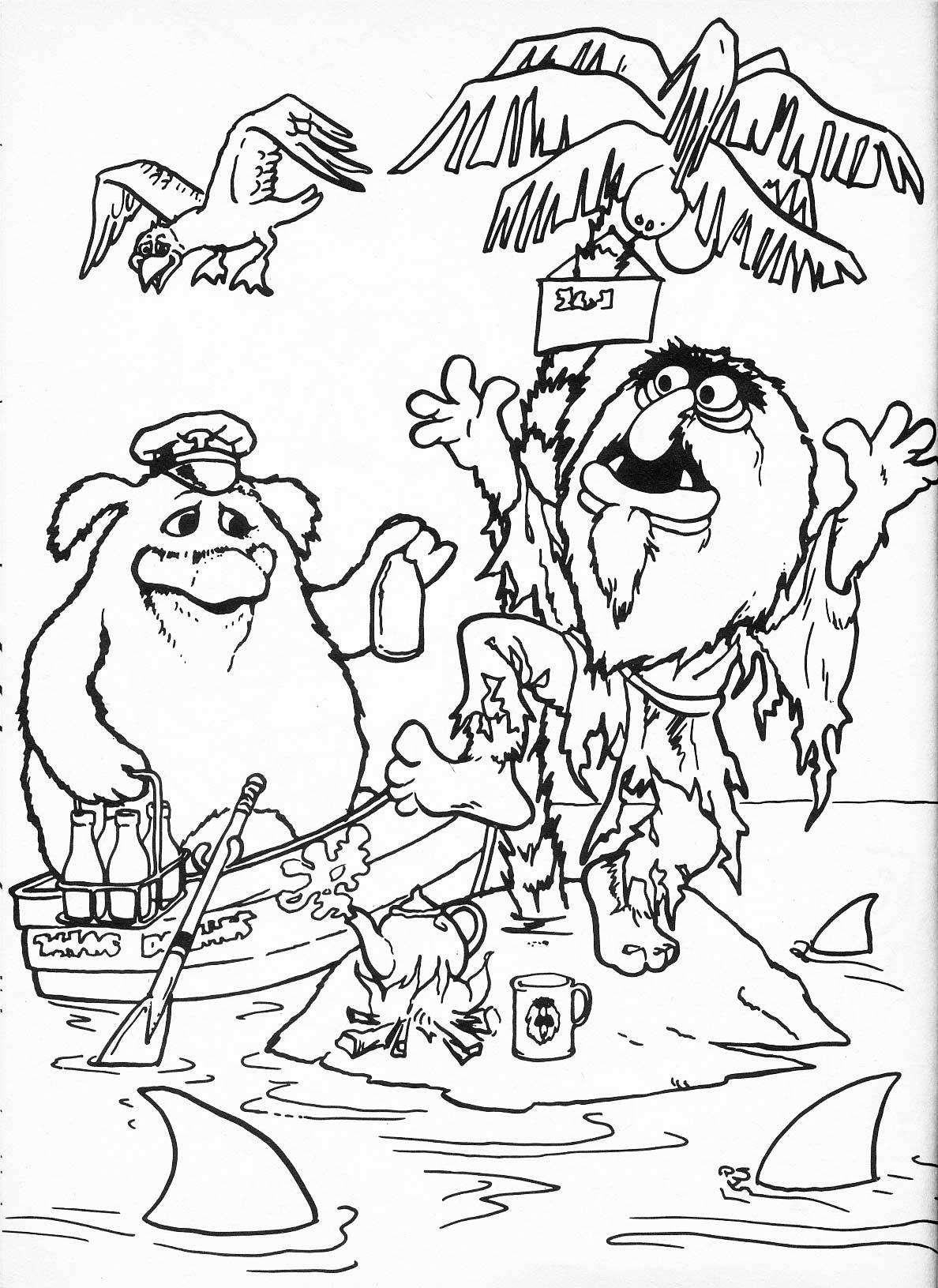 132 dibujos de Muppets para colorear | Oh Kids | Page 8
