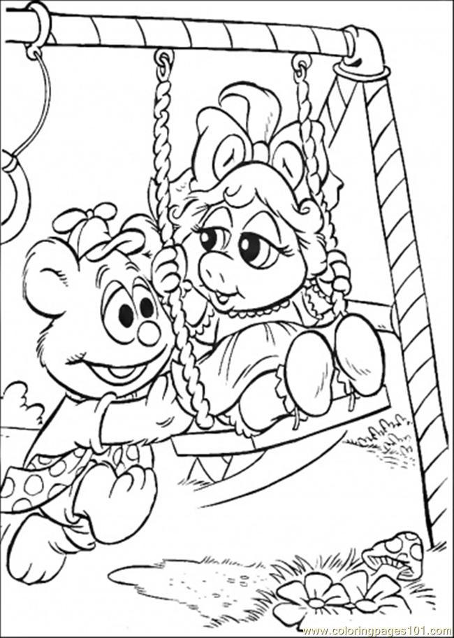 Vistoso Muppets Más Buscados Para Colorear Fotos - Dibujos Para ...