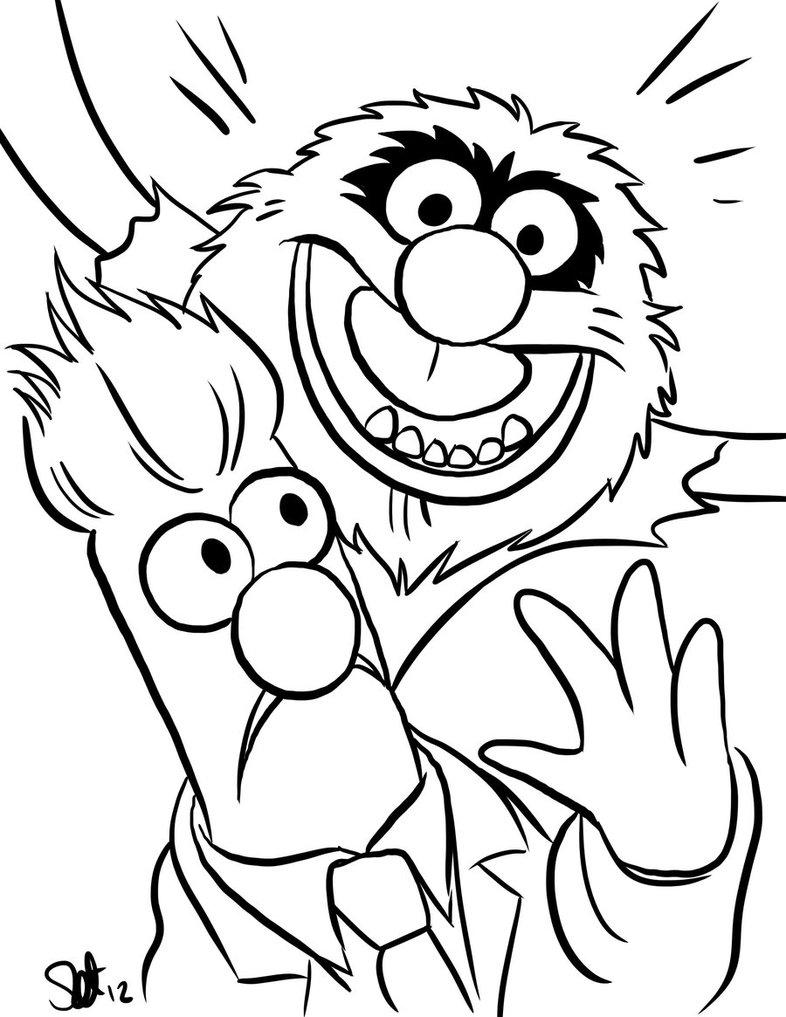 132 dibujos de Muppets para colorear | Oh Kids | Page 13
