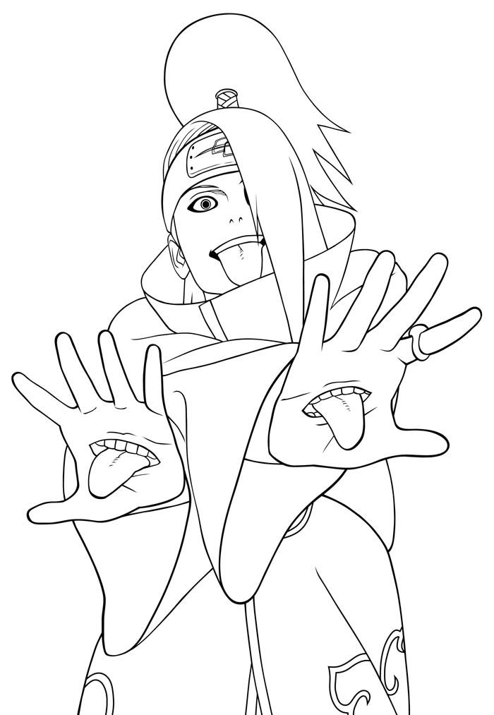 133 dibujos de Naruto para colorear  Oh Kids  Page 1