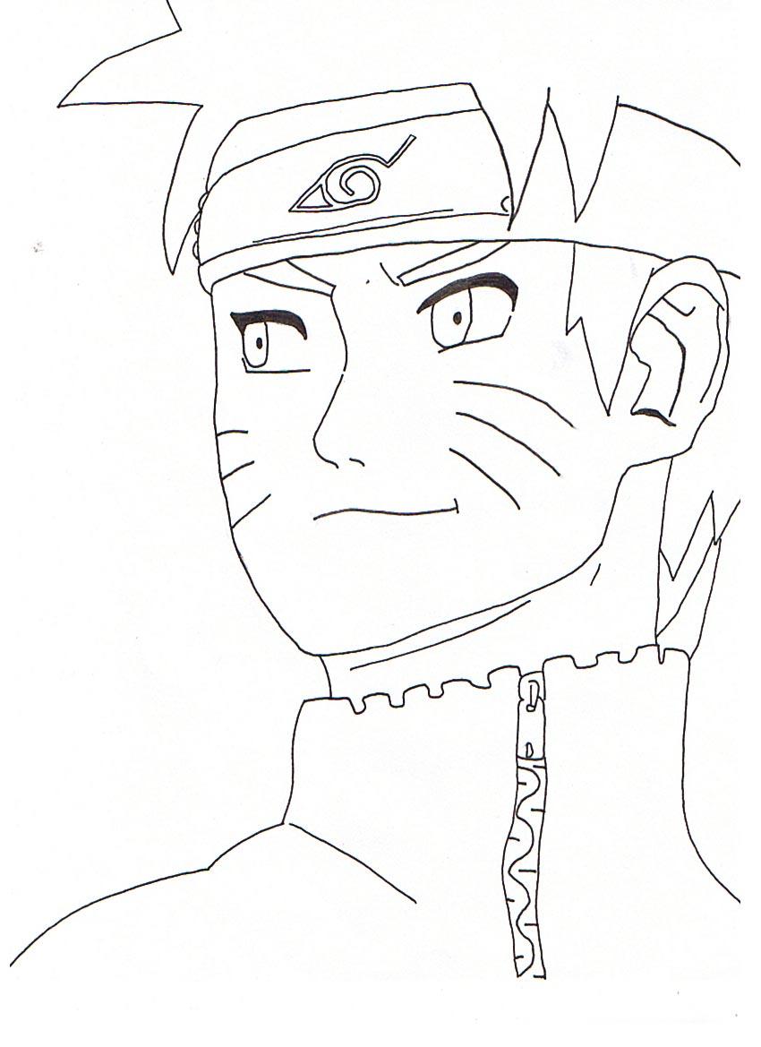 133 Dibujos De Naruto Para Colorear Oh Kids Page 3