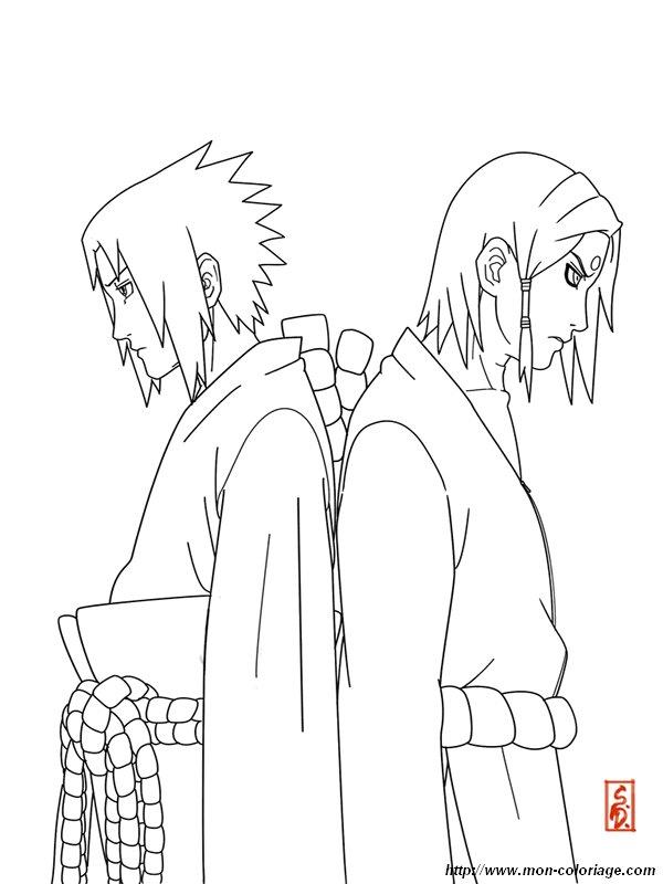 133 Dibujos De Naruto Para Colorear Oh Kids Page 4