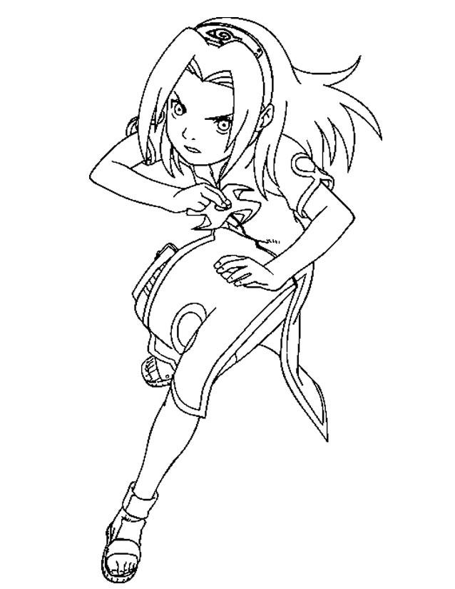 133 Dibujos De Naruto Para Colorear Oh Kids Page 6