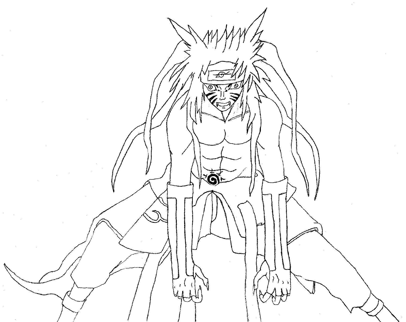 133 dibujos de Naruto para colorear | Oh Kids | Page 9