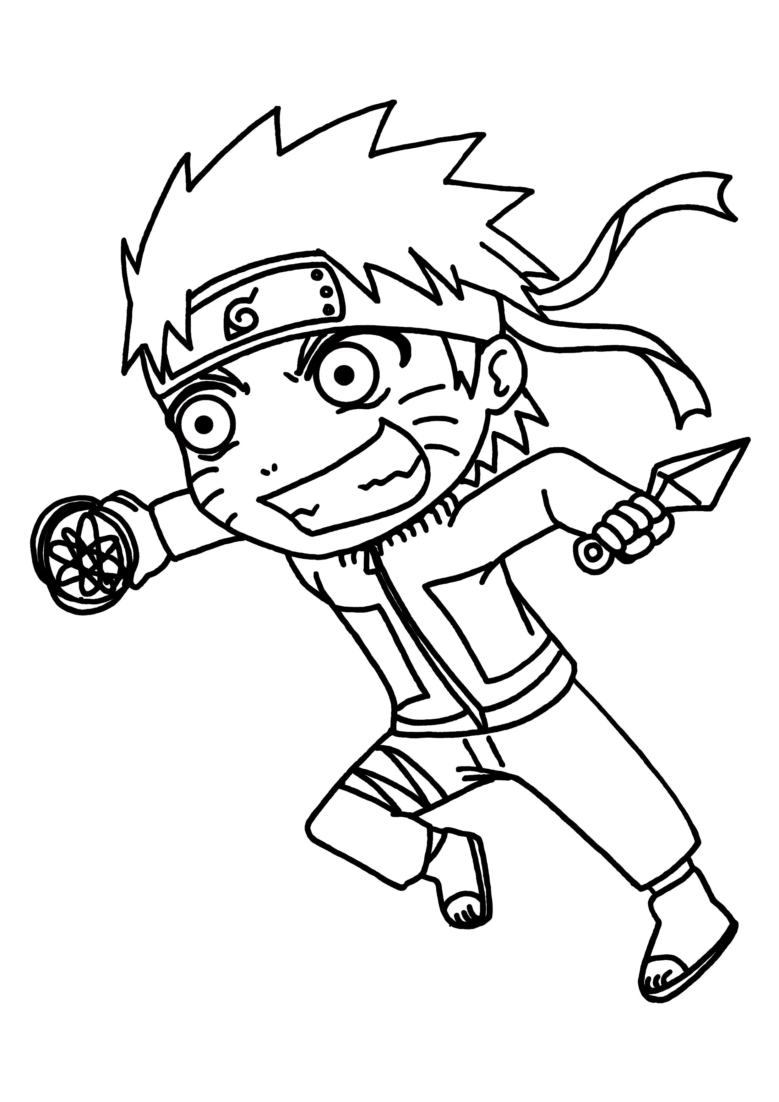 133 dibujos de Naruto para colorear | Oh Kids | Page 11