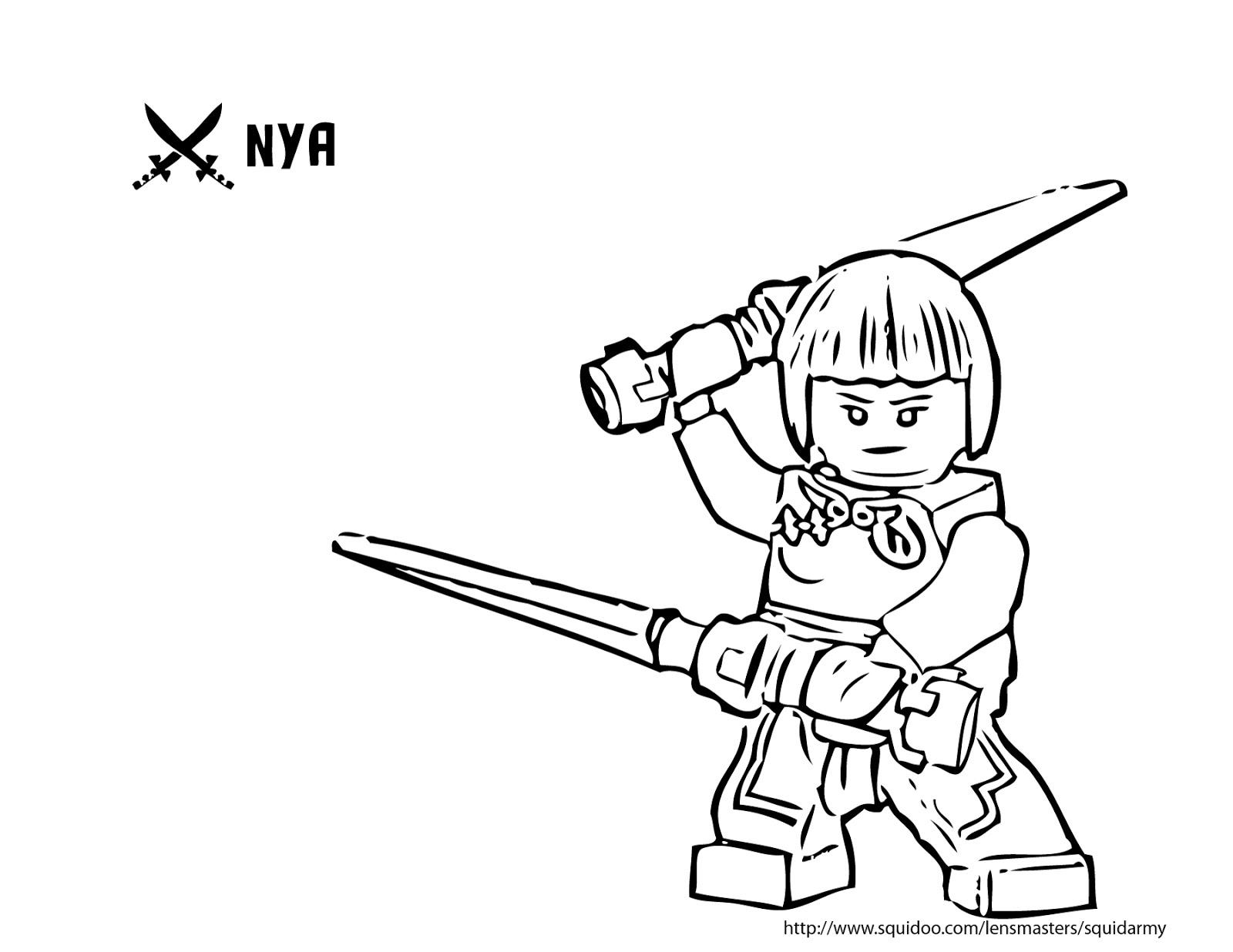 Asombroso Páginas Para Colorear De Lego Ninjago Lloyd Viñeta ...