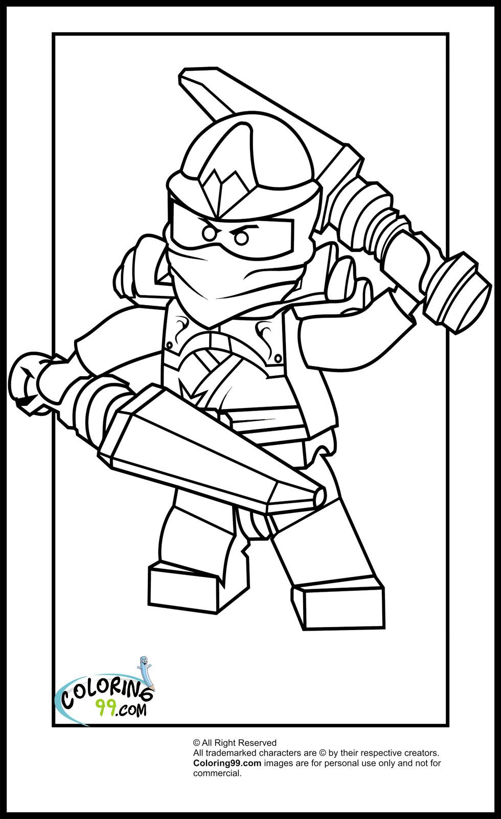 70 dibujos de Ninjago para colorear | Oh Kids | Page 7