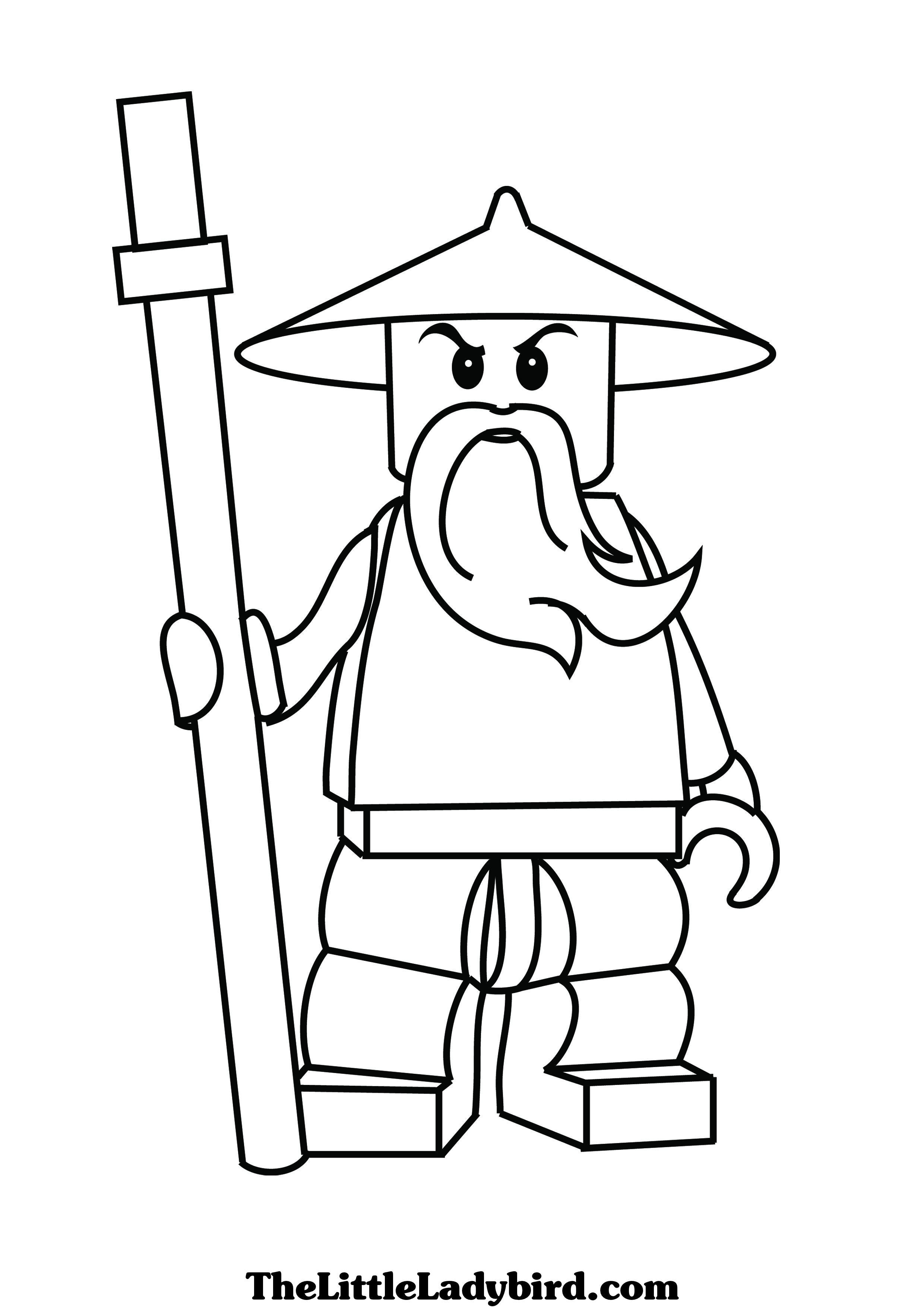 70 dibujos de ninjago para colorear oh kids page 7 - Ninjago gratuit ...
