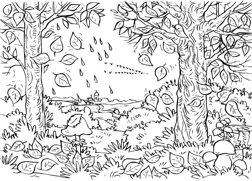 59 dibujos de oto o para colorear oh kids page 4 - Coloriages automne ...