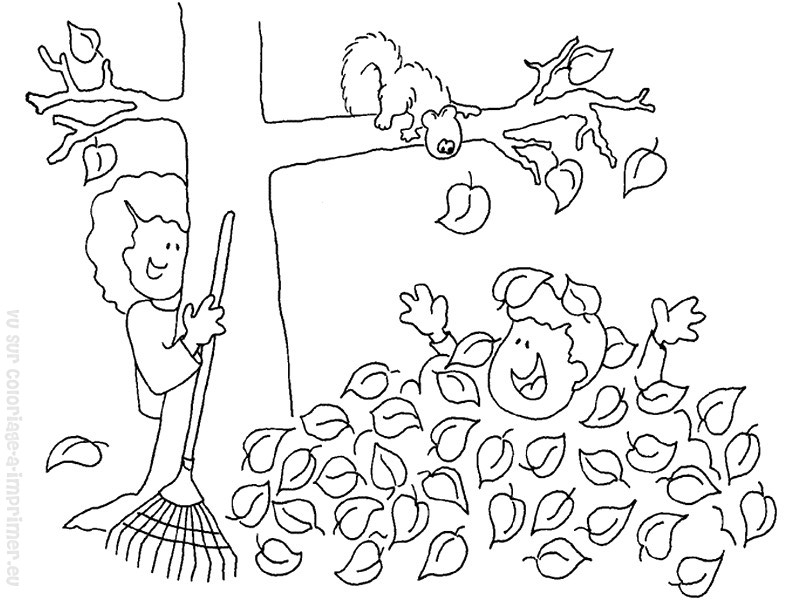 59 dibujos de Otoño para colorear | Oh Kids | Page 4
