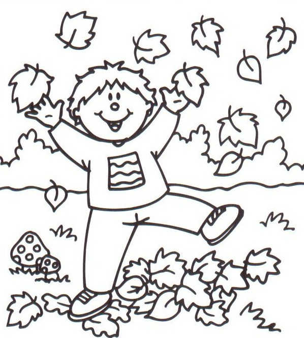 59 dibujos de Otoño para colorear | Oh Kids | Page 7