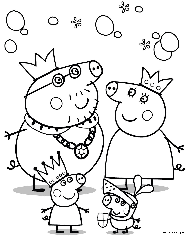 111 Dibujos De Peppa Pig Para Colorear Oh Kids Page 2