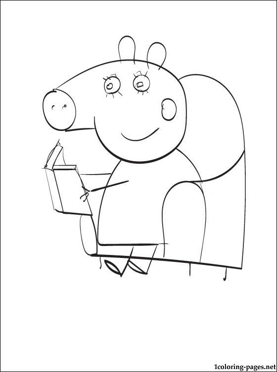 111 dibujos de Peppa pig para colorear   Oh Kids   Page 5