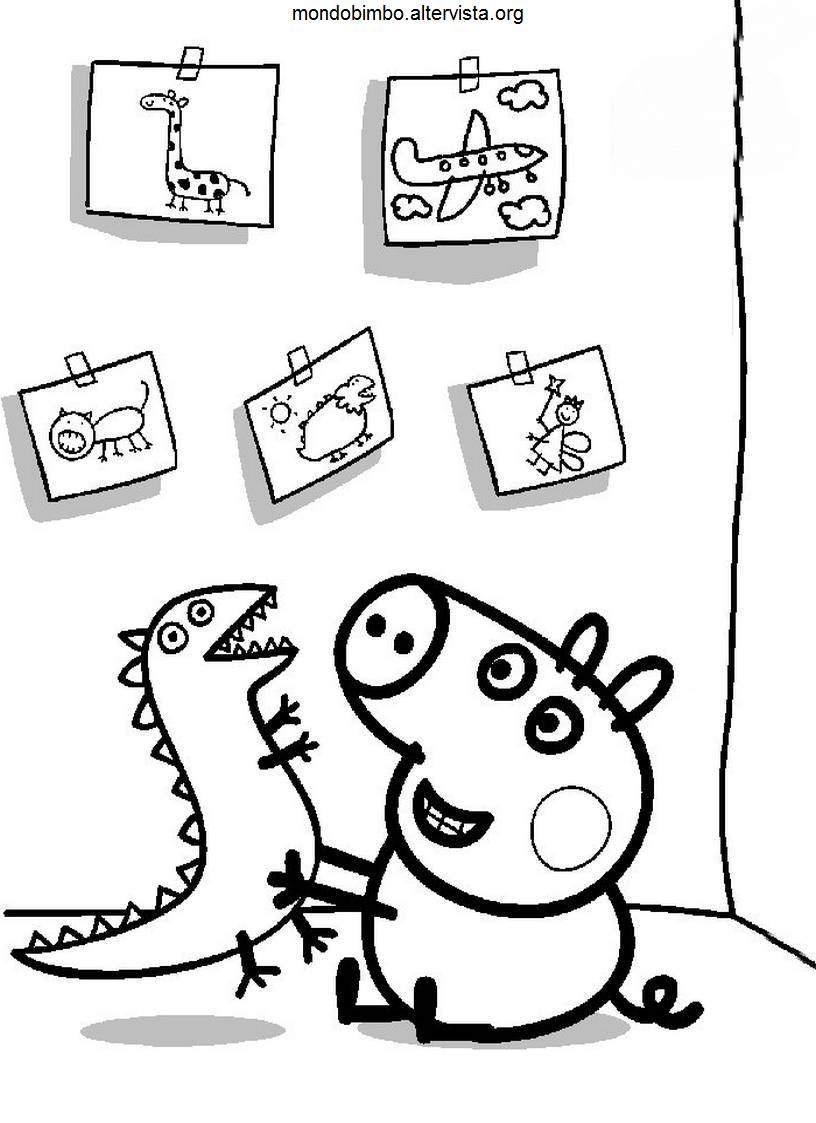 111 dibujos de Peppa pig para colorear | Oh Kids | Page 6