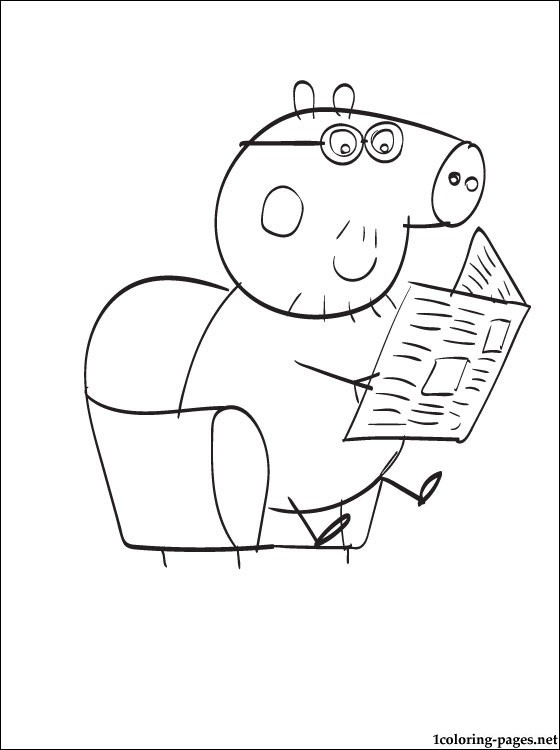 111 dibujos de Peppa pig para colorear | Oh Kids | Page 7