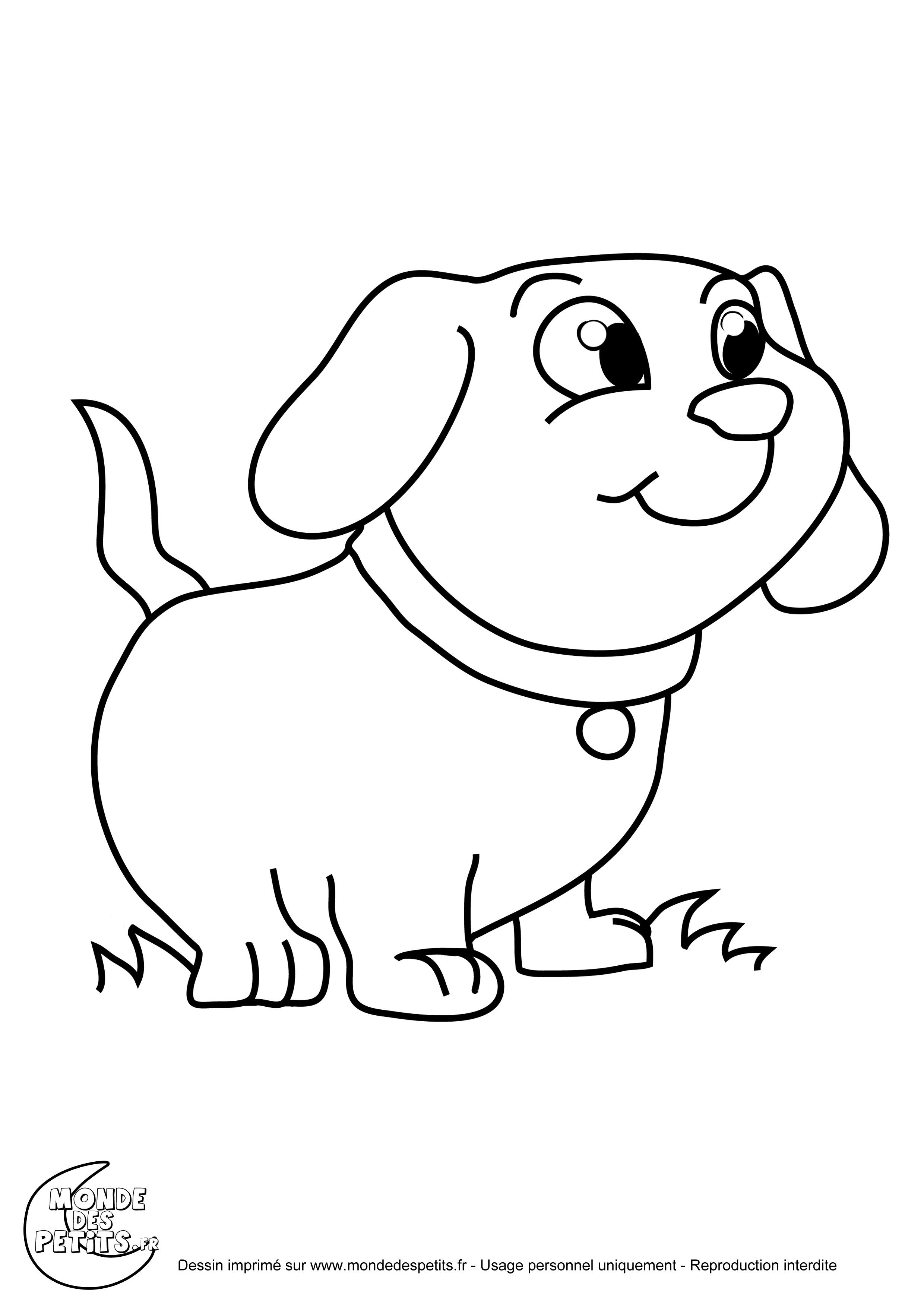 302 dibujos de perros para colorear oh kids page 5 - Dessin de chiot ...