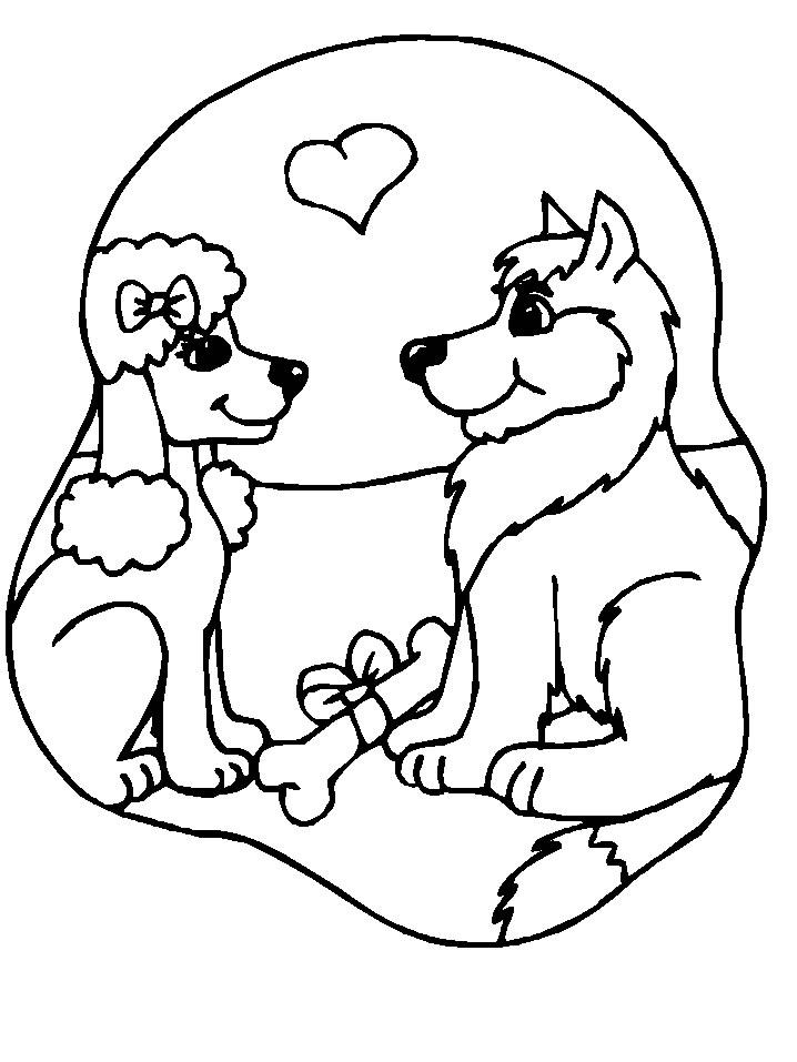 302 Dibujos De Perros Para Colorear Oh Kids Page 7