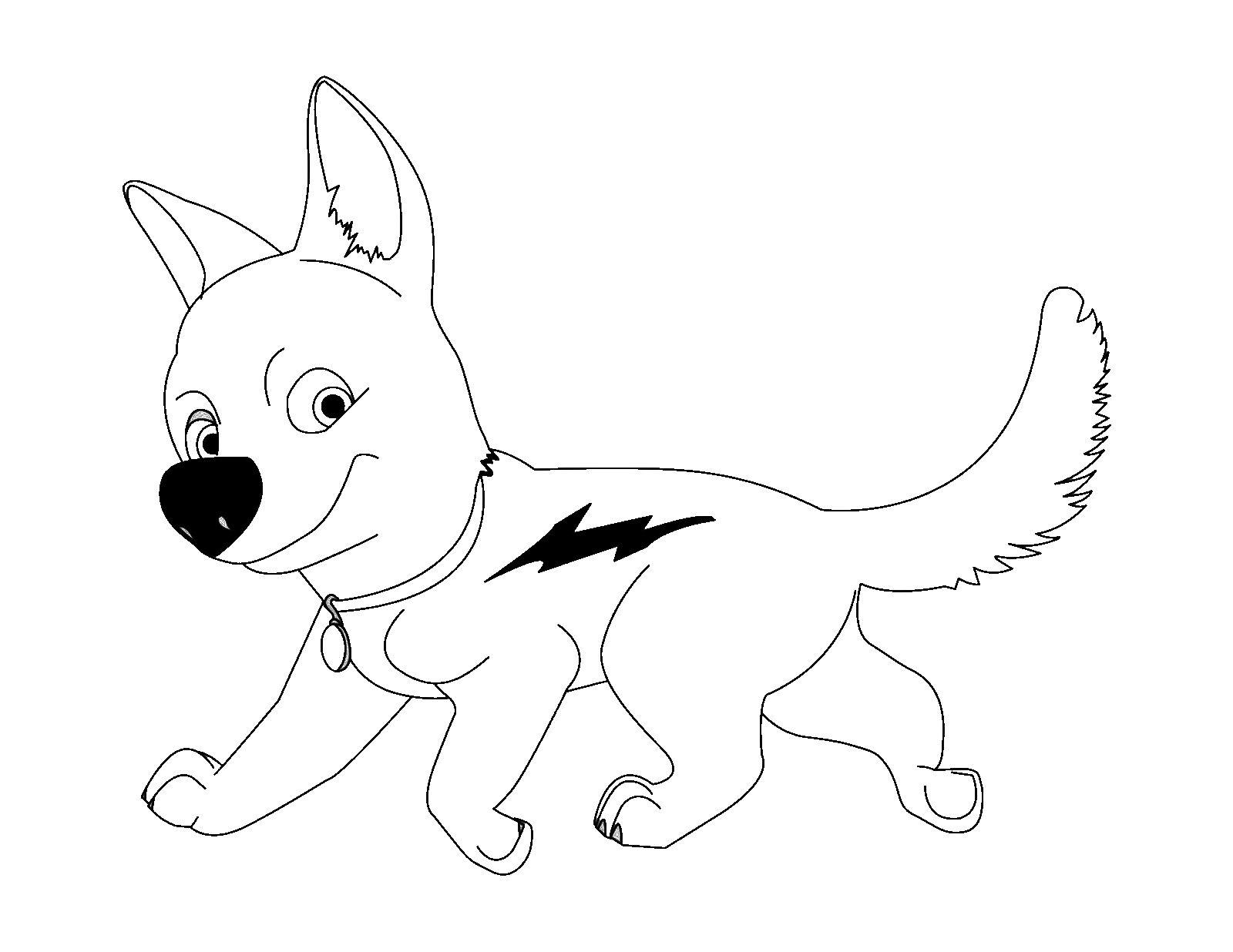 302 dibujos de Perros para colorear | Oh Kids | Page 17