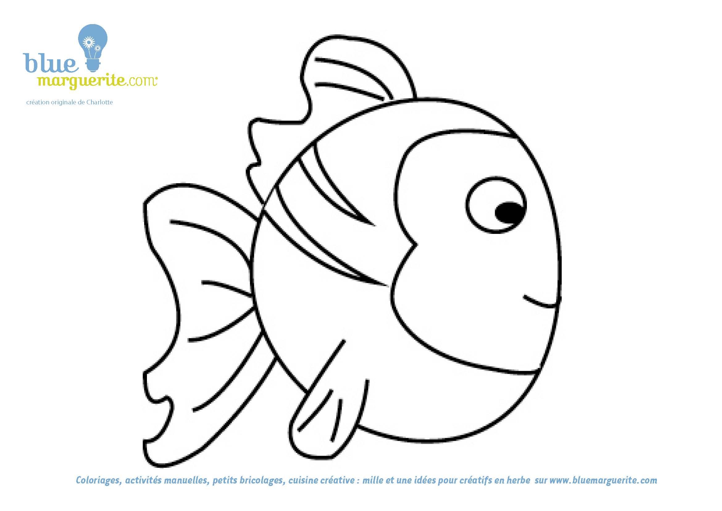 Imagenes Con O Para Colorear: 106 Dibujos De Pescado Para Colorear