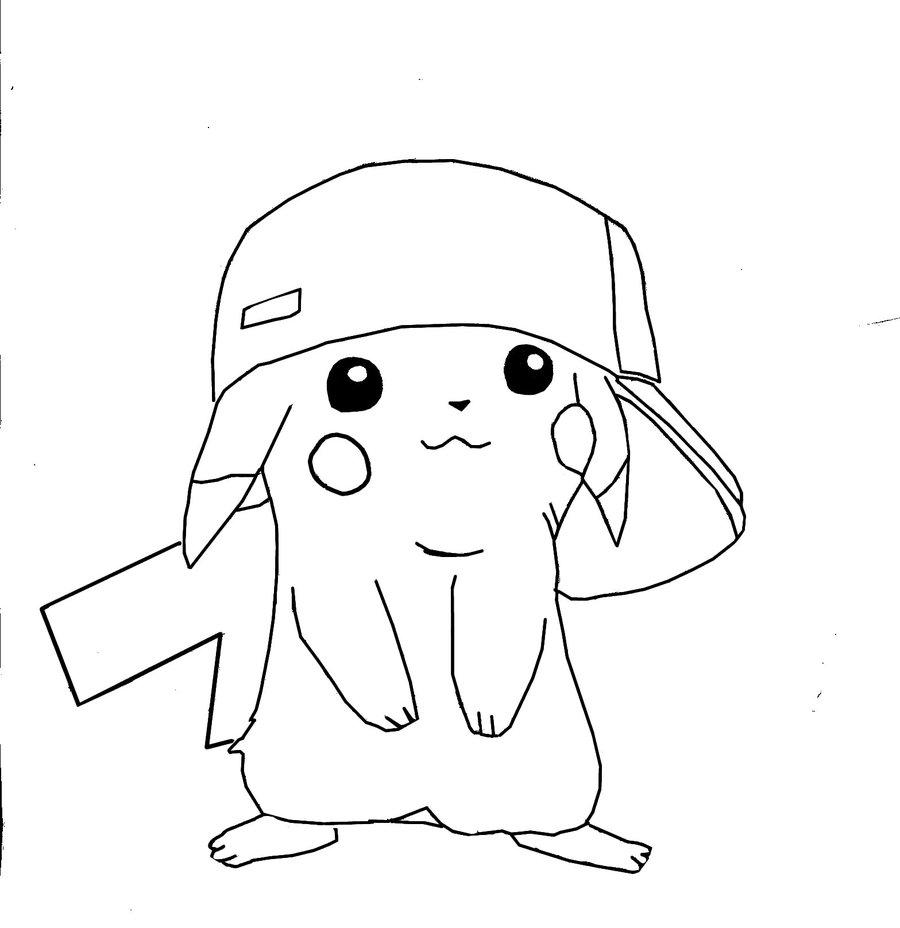 81 Dibujos De Pikachu Para Colorear Oh Kids Page 1