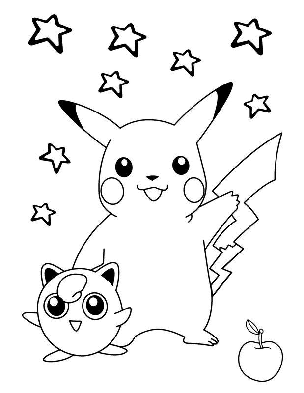 81 dibujos de Pikachu para colorear | Oh Kids | Page 3