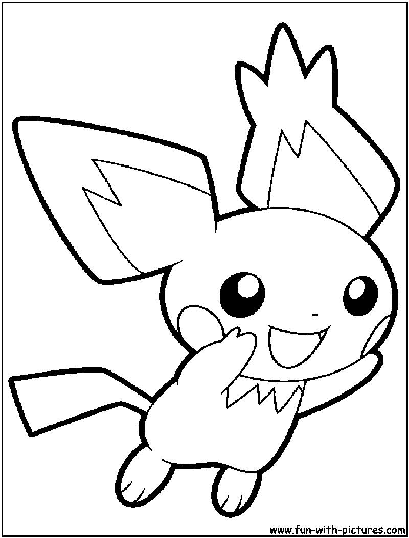 81 dibujos de Pikachu para colorear   Oh Kids   Page 4