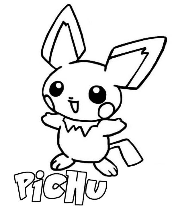 81 dibujos de Pikachu para colorear | Oh Kids | Page 4