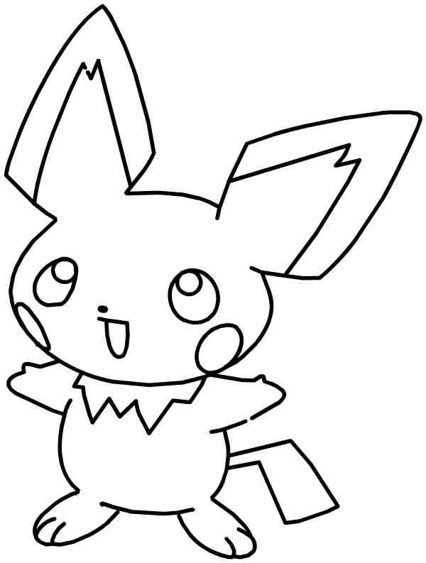81 dibujos de Pikachu para colorear   Oh Kids   Page 7