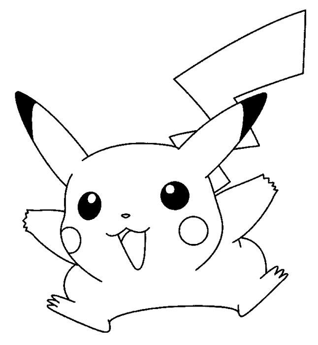 81 dibujos de pikachu para colorear oh kids page 8 - Pikachu coloriage ...