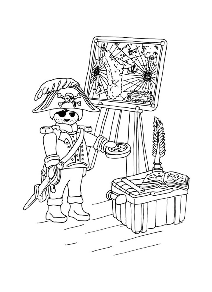 209 dibujos de piratas para colorear oh kids page 1