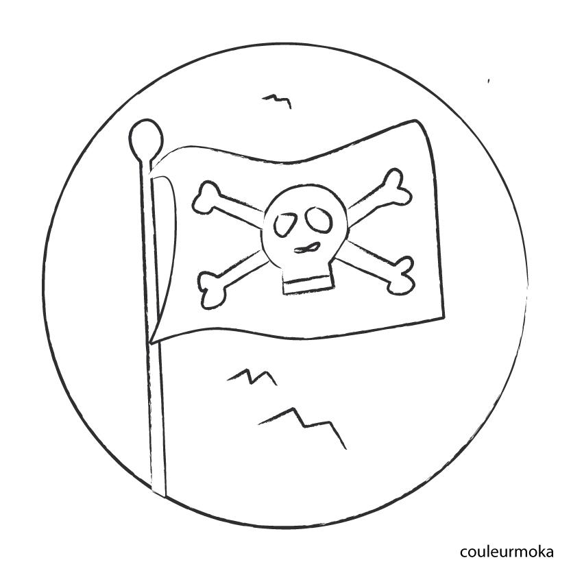 209 dibujos de piratas para colorear oh kids page 5 - Coloriage drapeau portugal ...