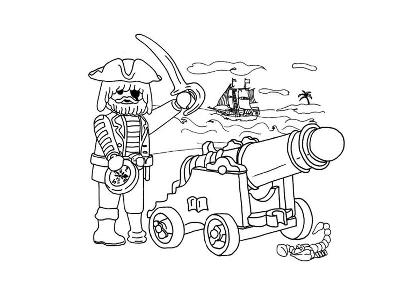 209 dibujos de Piratas para colorear   Oh Kids   Page 11