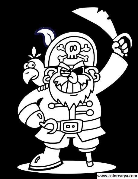209 dibujos de Piratas para colorear | Oh Kids | Page 12
