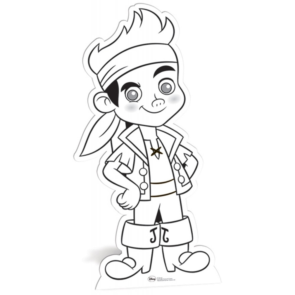 Excepcional Jake Y Los Piratas Para Colorear Modelo - Dibujos Para ...