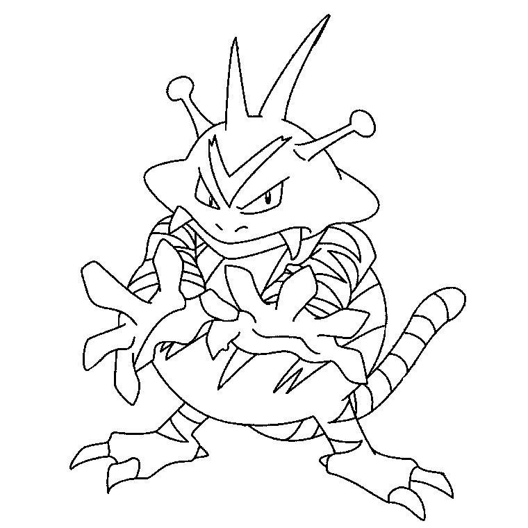 150 Dibujos De Pokemon Para Colorear