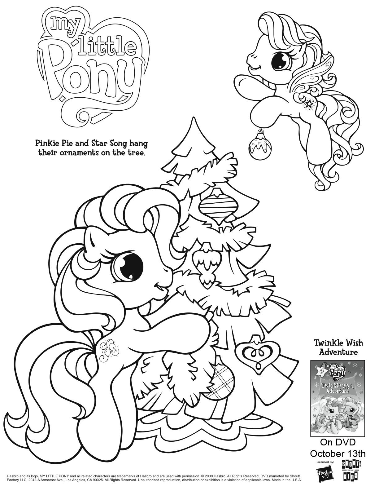 149 dibujos de Ponis para colorear | Oh Kids | Page 1